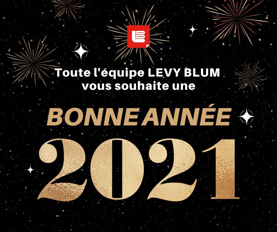 bonne année 2021 LEVY BLUM