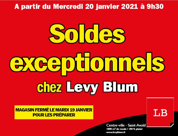 soldes chez levy blum 2021